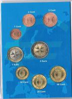 Foto 2 Malta Euro Kursmünzensatz '' 2008 '' !