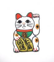 ' Maneki Katze ' Aufbügler/ Aufnäher/ Patch