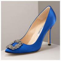 Manolo Blahnik something blue Pumps luxus sex and the city