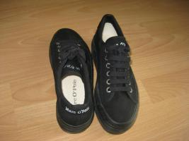 Marc O`Polo Sneakers schwarz Gr. 37 fast neu