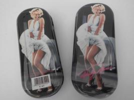 Marilyn Monroe Brillenetui, Sehr selten, Neuware