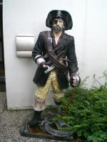 Maritime Dekoration, Piratenartikel, lebensgrosse Piratenfiguren & viel Zubehör