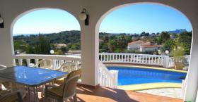 Foto 4 Markante Villa in Moraira an der Costa Blanca
