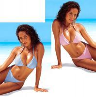 Marken Triangel Bikinis im Doppel Größe M