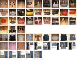 Markenkleidung fast alle (wie) neu, viele Taschen, Elektro, Deko, usw.