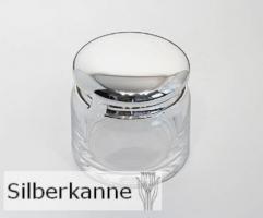Marmeladendose Jam H 9cm, Sterling Silber 925