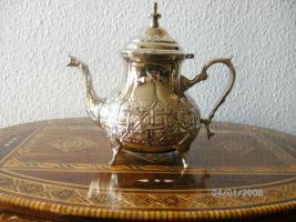 Marokkanische Orientalische Teekanne 1,5 L