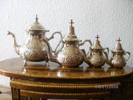 Foto 2 Marokkanische Orientalische Teekanne 1,5 L