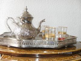 Foto 3 Marokkanische Orientalische Teekanne 1,5 L