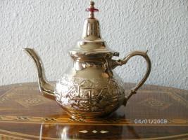 Marokkanische Orientalische Teekanne 950 ml