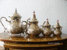 Foto 2 Marokkanische Orientalische Teekanne 950 ml