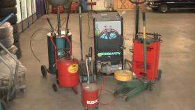Maschinen, Werkzeuge für Autowerkstatt