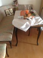Foto 5 Masive Antik Eckbank mit Federkern mit 2 Stühle und  Tisch