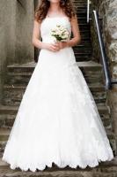 Maßgeschneidertes Hochzeitskleid Gr.34-36