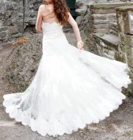 Foto 2 Maßgeschneidertes Hochzeitskleid Gr.34-36