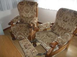 Foto 5 Massiv Eichenm�bel (Wohnzimmer, Esszimmer, Diele) in sehr gutem Zustand JETZT-50%