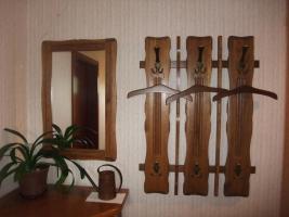 Foto 7 Massiv Eichenm�bel (Wohnzimmer, Esszimmer, Diele) in sehr gutem Zustand JETZT-50%
