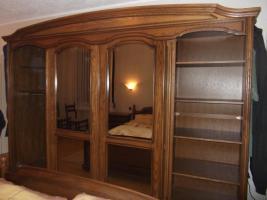 Foto 4 Massiv Schlafzimmerschrank mit Kommode