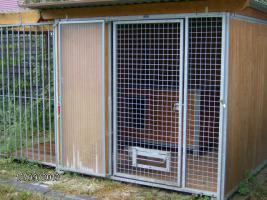 Foto 2 Massive ''Bromet'' Hundezwinger