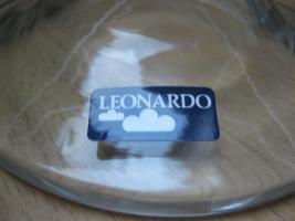 Foto 4 Massive Glasschale von Leonardo, NEU !