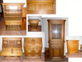 Massive Möbel aus Eiche (Wohnzimmer)