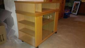Foto 7 Massivholz-Möbel Erle und Buche in gutem Zustand