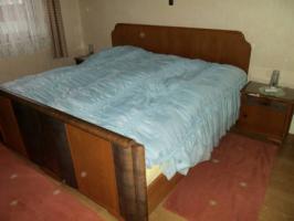 Massivholz Schlafzimmer 50er Jahre