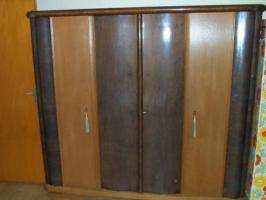 Foto 2 Massivholz Schlafzimmer 50er Jahre