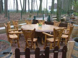 Foto 8 Massivholzmöbel in die Terasse, Garten