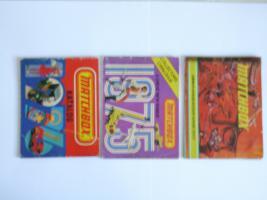 Foto 2 Matchbox-Kataloge