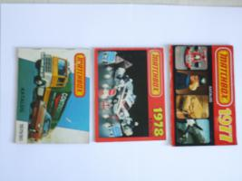 Foto 3 Matchbox-Kataloge
