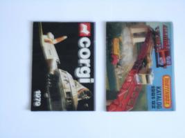 Foto 4 Matchbox-Kataloge