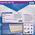 Matratze - Malie Sumo XXL 7-Zonen Kaltschaummatratze H3/H4/H5 Höhe ca. 20cm