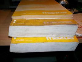 Mazda Werkstattbücher- Original-
