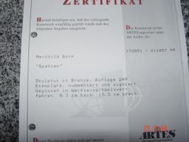Foto 4 Mechtild Born: ''Spatzen'' Skulptur in Bronze mit Zertifikat