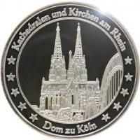 Medaillen mit Rheinmotiven