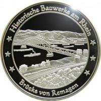 Foto 2 Medaillen mit Rheinmotiven