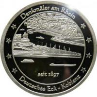 Foto 3 Medaillen mit Rheinmotiven