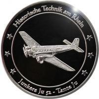 Foto 4 Medaillen mit Rheinmotiven