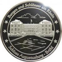 Foto 5 Medaillen mit Rheinmotiven