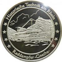 Foto 8 Medaillen mit Rheinmotiven