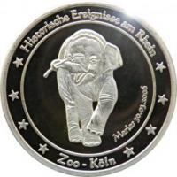 Foto 9 Medaillen mit Rheinmotiven