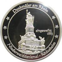 Foto 10 Medaillen mit Rheinmotiven