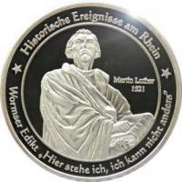 Foto 11 Medaillen mit Rheinmotiven