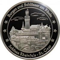 Foto 12 Medaillen mit Rheinmotiven