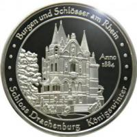Foto 14 Medaillen mit Rheinmotiven