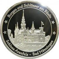 Foto 16 Medaillen mit Rheinmotiven