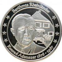 Foto 18 Medaillen mit Rheinmotiven
