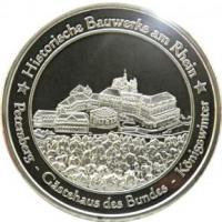 Foto 19 Medaillen mit Rheinmotiven