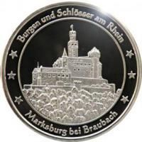Foto 20 Medaillen mit Rheinmotiven